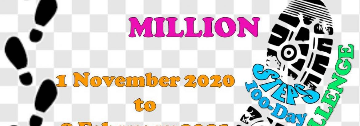 SPORTS FOR LIFE MILLION STEPS CHALLENGE 2020